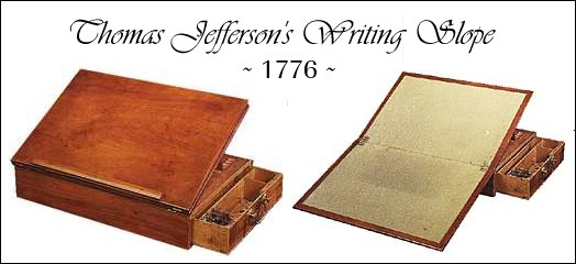 Thomas Jefferson Desk on Lap Desk Plans Woodworking
